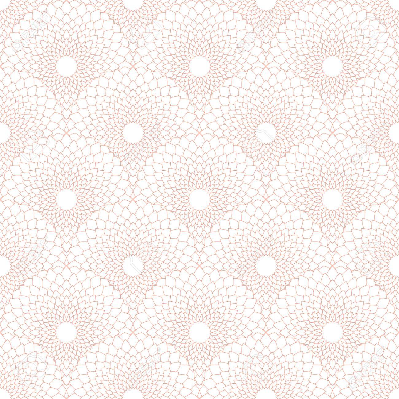 Ilustración De La Flor Puntear El Diseño Patrón De Color De Rosa ...