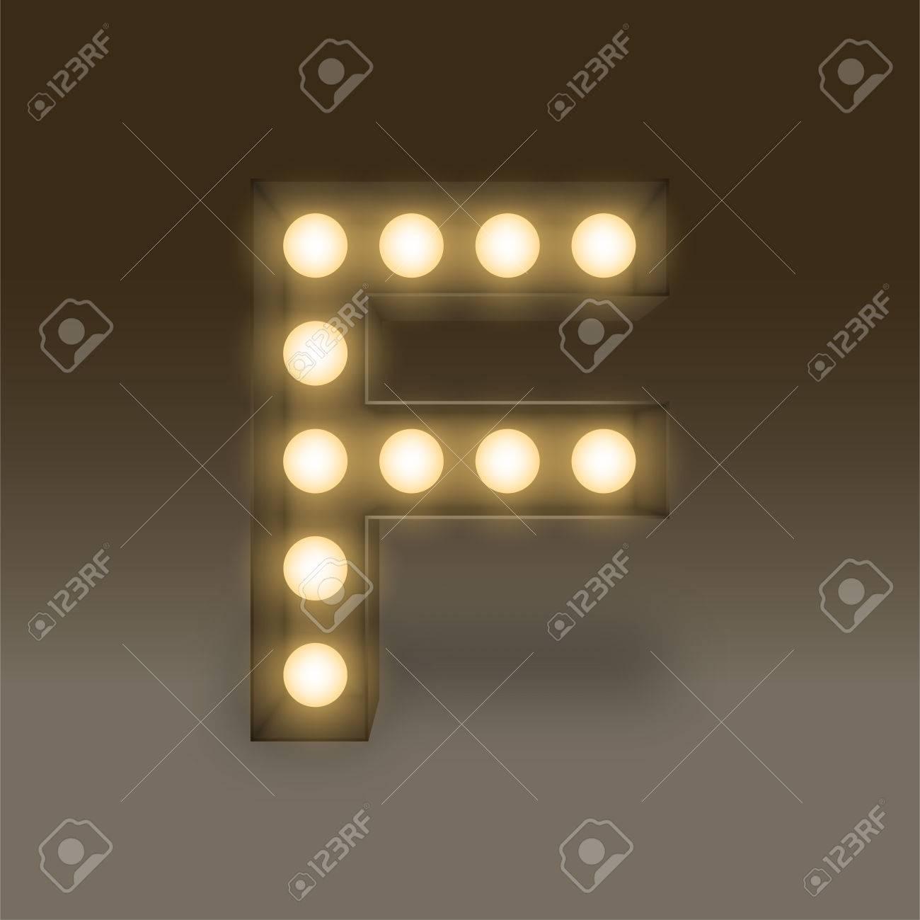 f sign leuchten