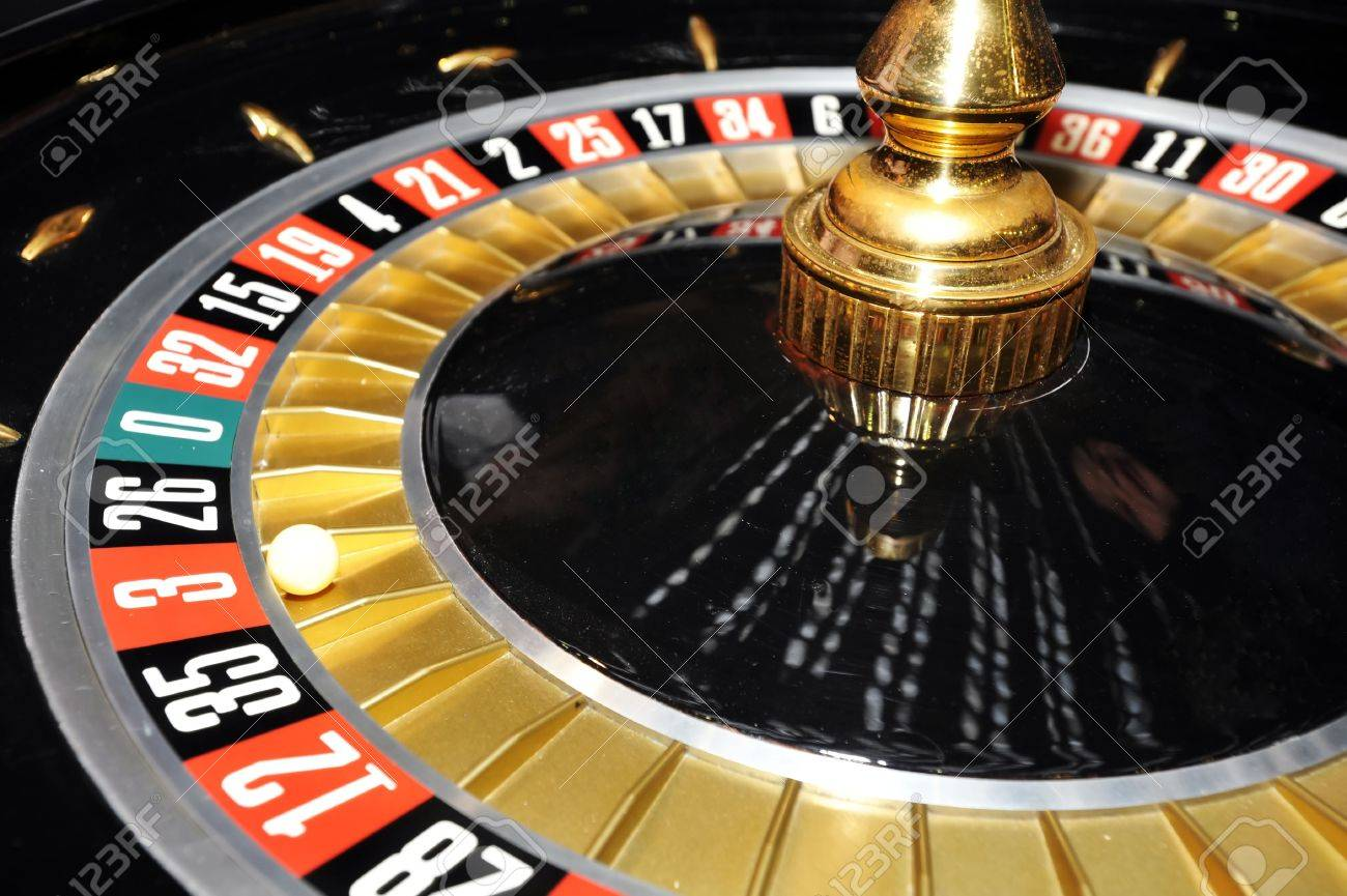 6593344-Roulette-wheel-with-ball-on-numb