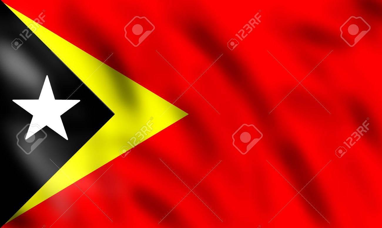 drapeau du timor oriental