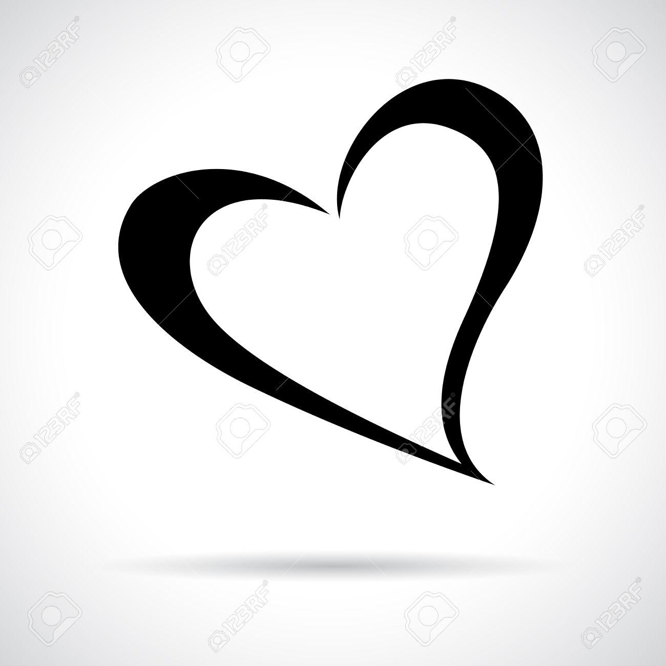 Heart icon black flat symbol in a circle love concept royalty black flat symbol in a circle love concept stock vector 32053079 buycottarizona