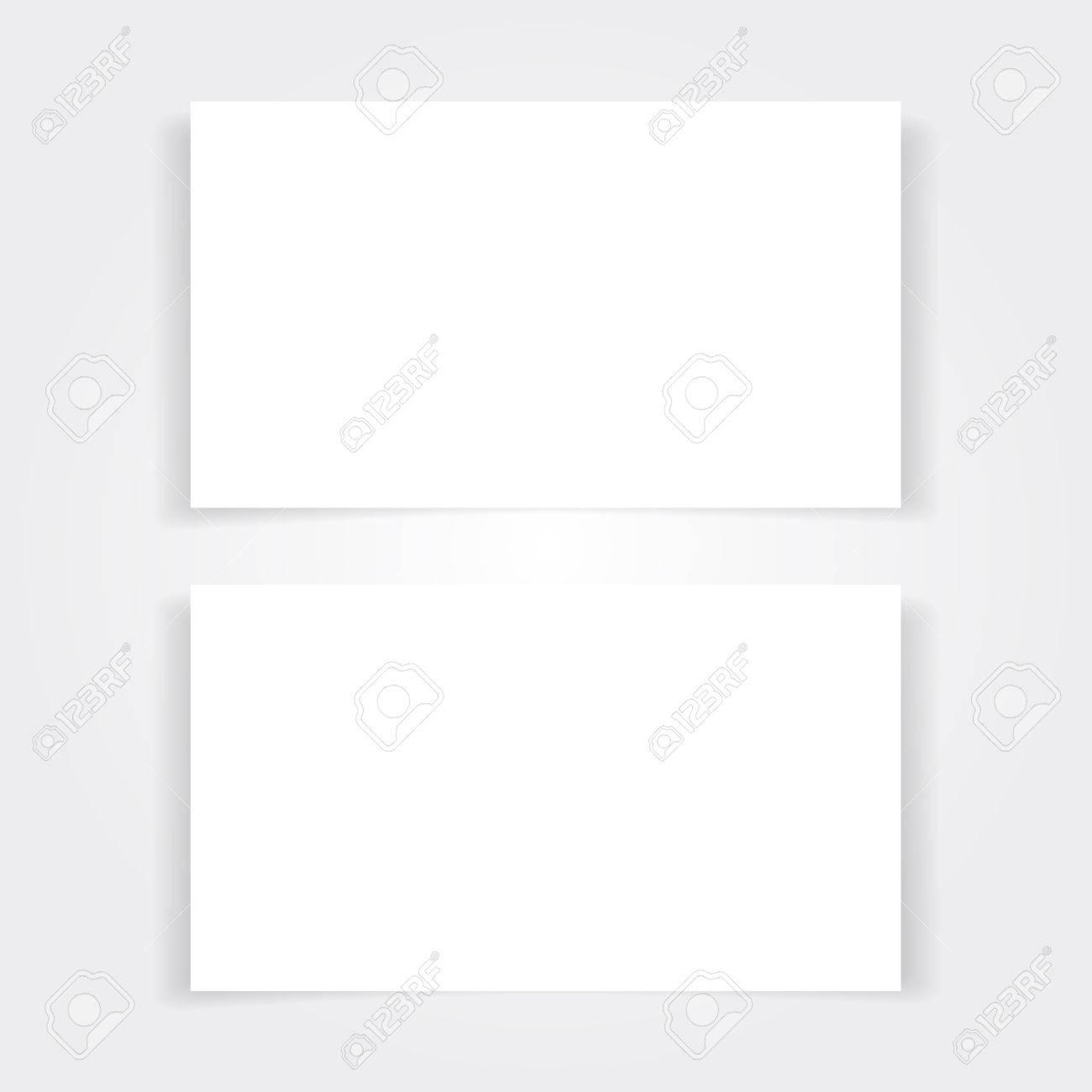 Blank business card mock up set branding template with place blank business card mock up set branding template with place for name address and reheart Choice Image