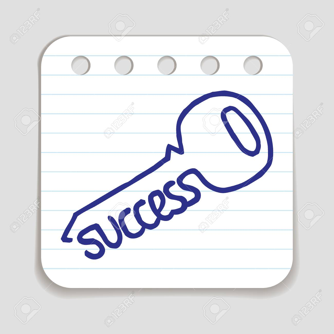 Doodle key to success icon blue pen hand drawn infographic symbol doodle key to success icon blue pen hand drawn infographic symbol on a notepaper piece biocorpaavc Choice Image