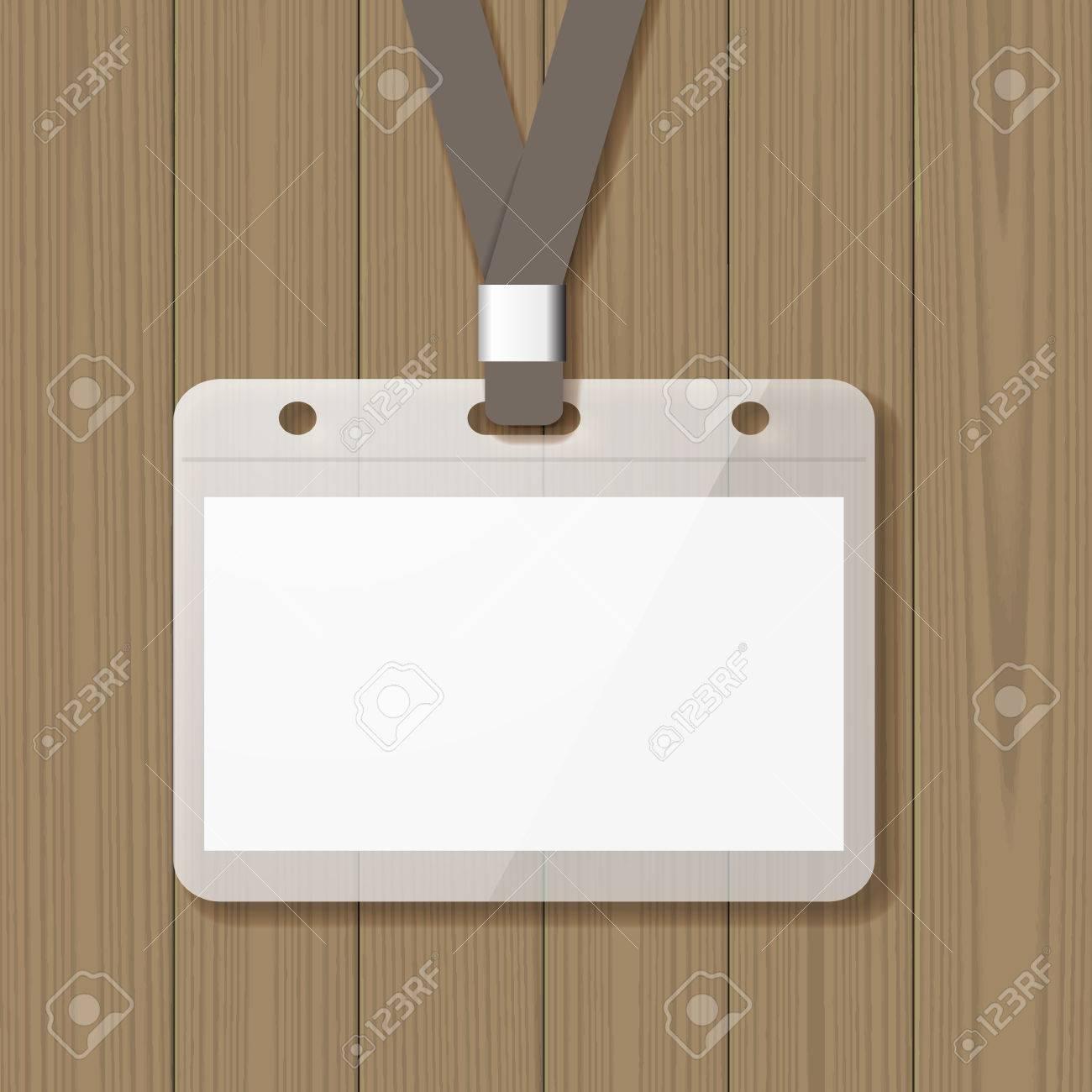 Plantilla De Tarjeta De Identificación, Tarjeta De Identificación ...