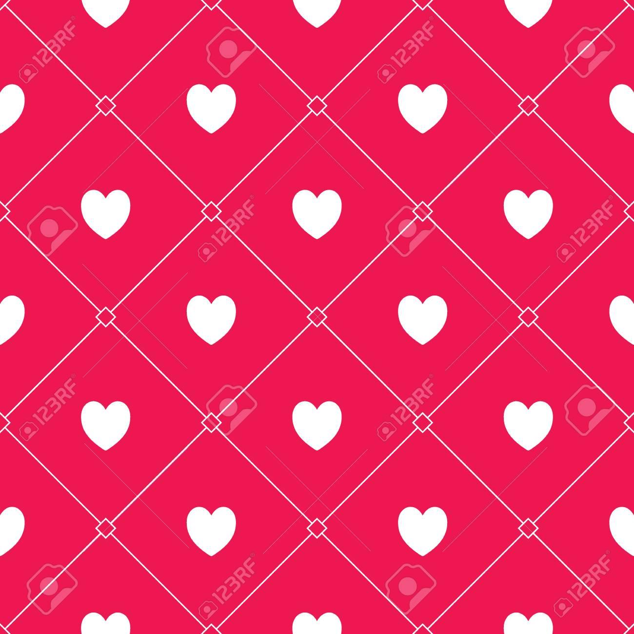 Seamless Coeurs Romantiques élément De Conception Pour Invitation De Mariage Cartes Valentines Day Fonds Décran Site Web Fond Invitation De