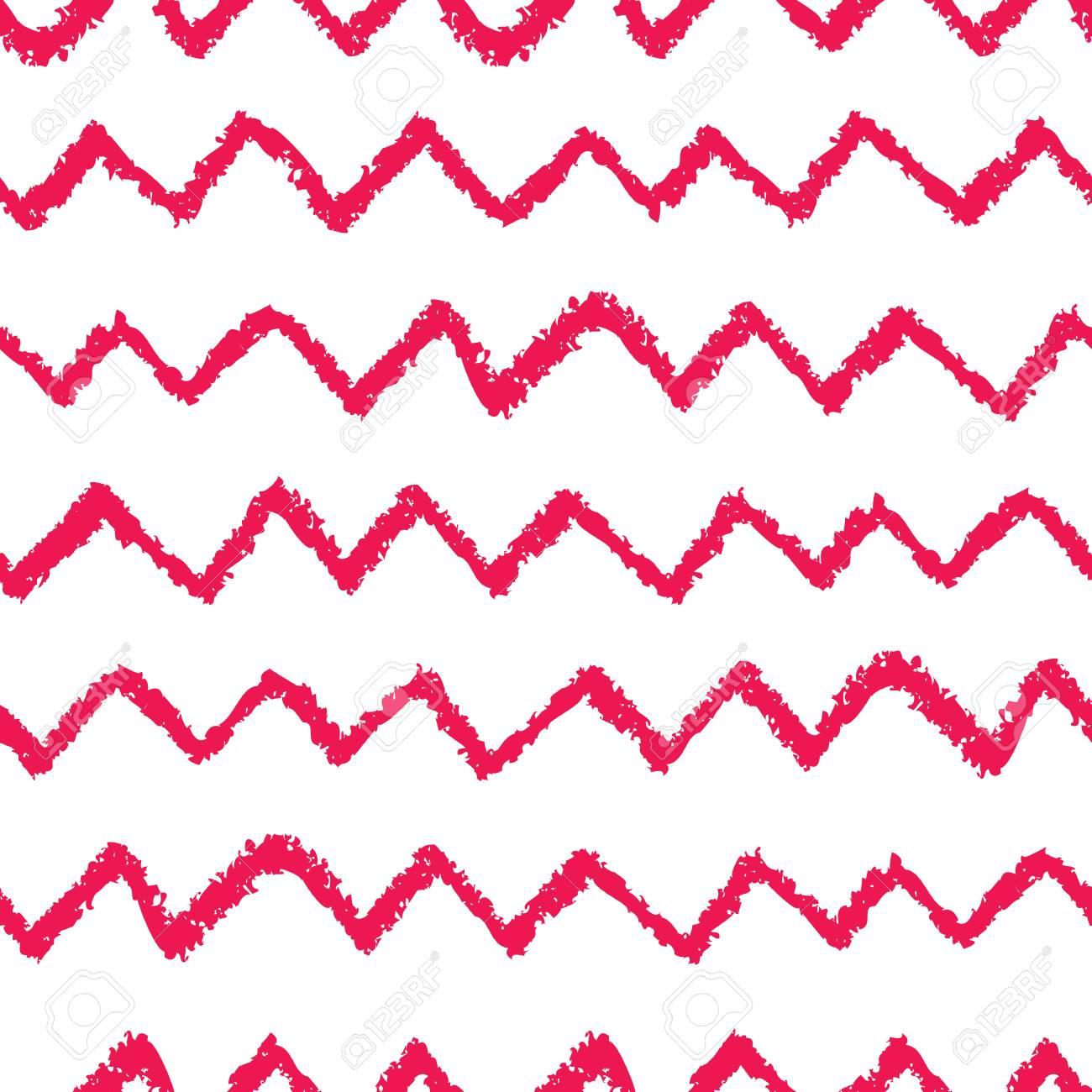 image relating to Printable Chevron Pattern known as Seamless chevron habit. Hand painted with oil pastel crayons