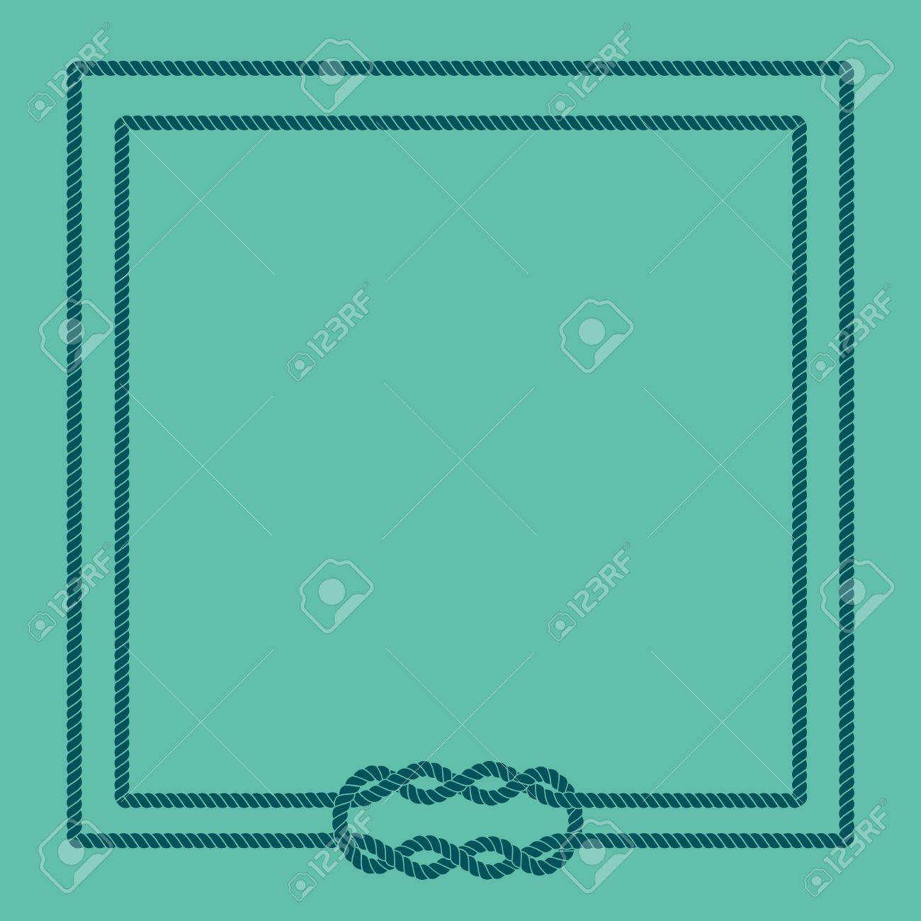 blank poster template with nautical border royalty free cliparts