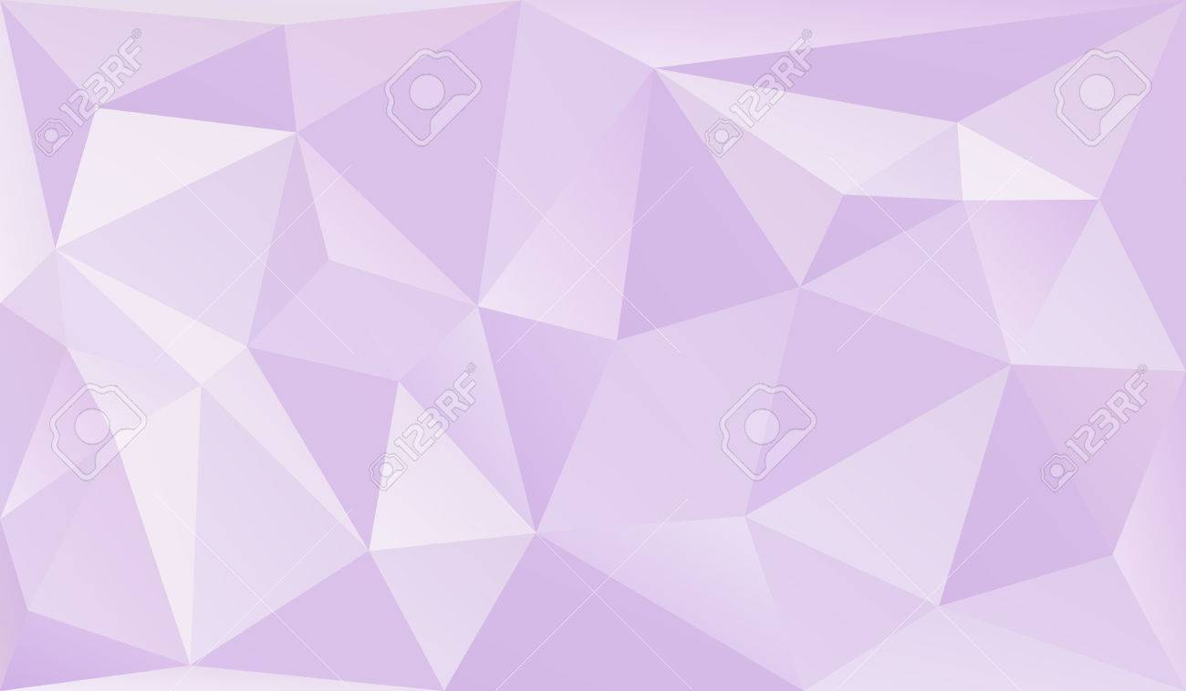 Abstract Pastel Triangles 3d Background Low Poly Graphic Design