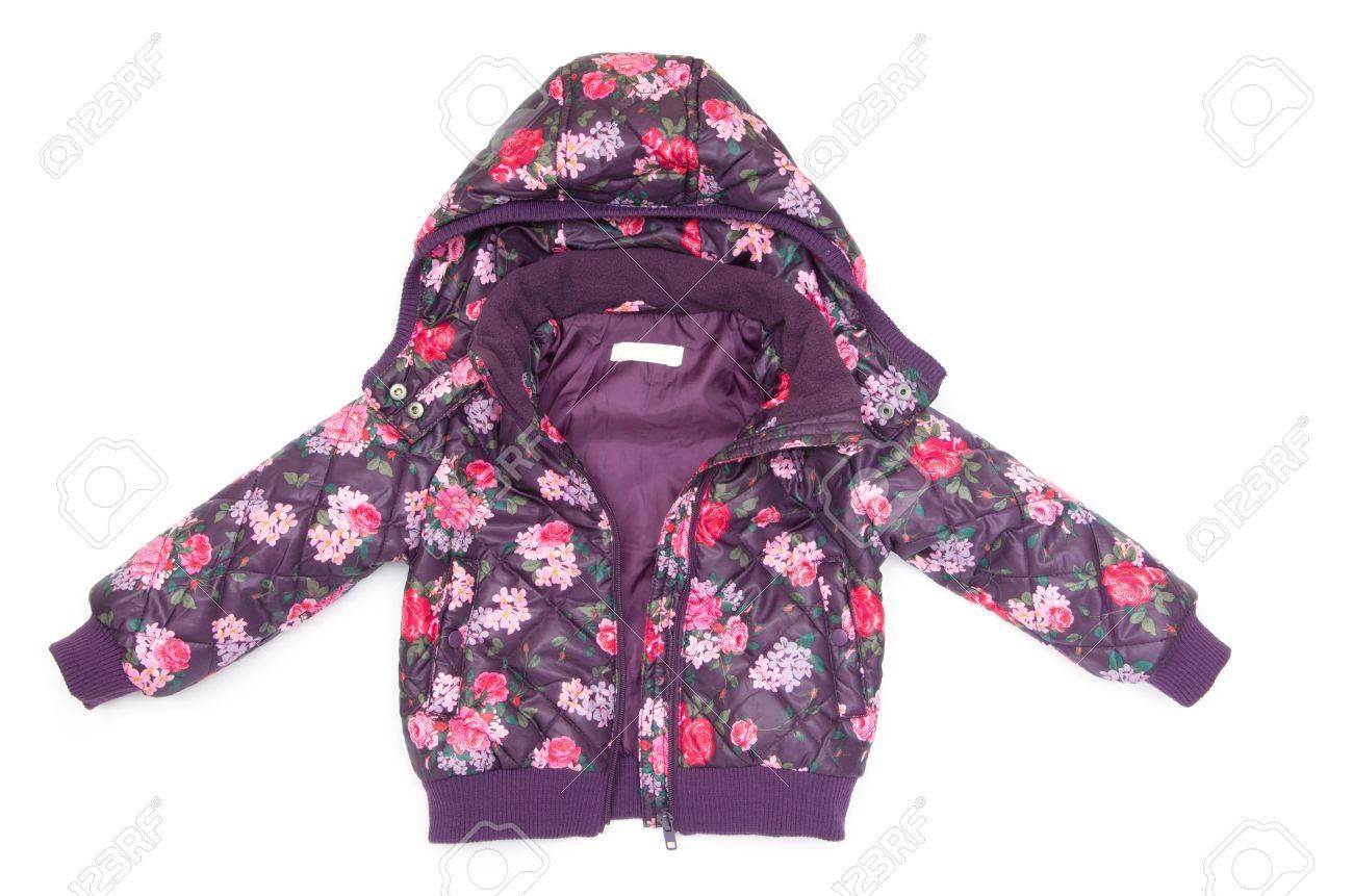 childrens jacket isolated on white Stock Photo - 13053106