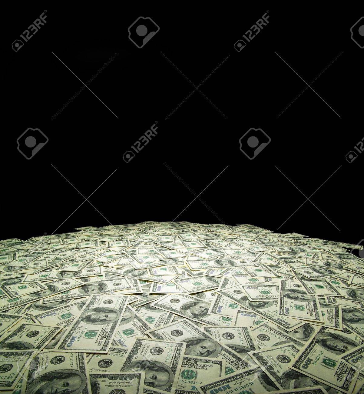 money background from dollars usa. financial concept Stock Photo - 16596420