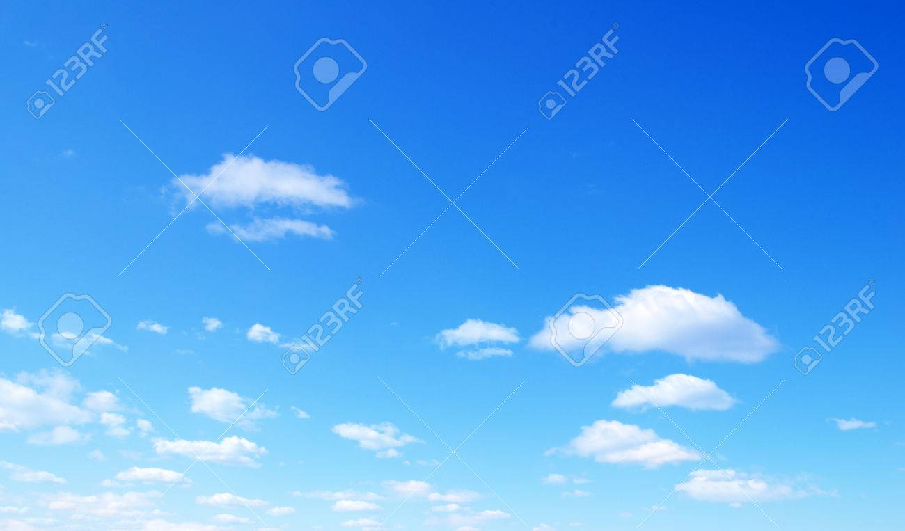 blue sky with tiny clouds Stock Photo - 37376786