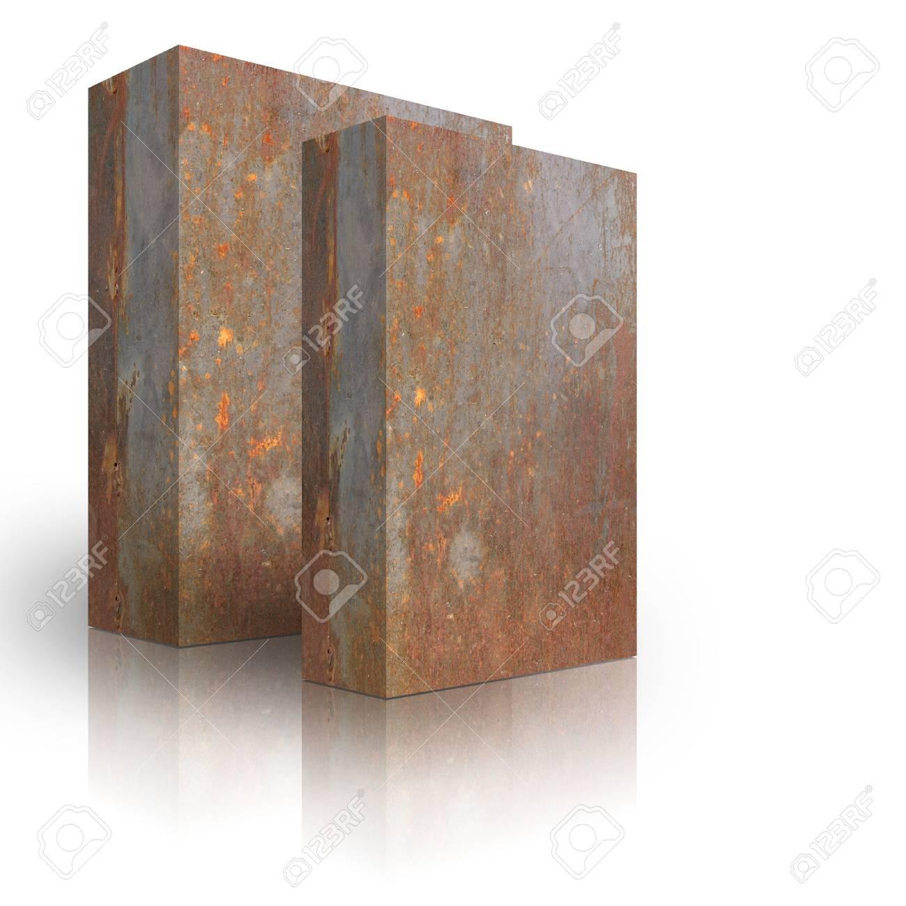 Metal box on a white background Stock Photo - 3628004