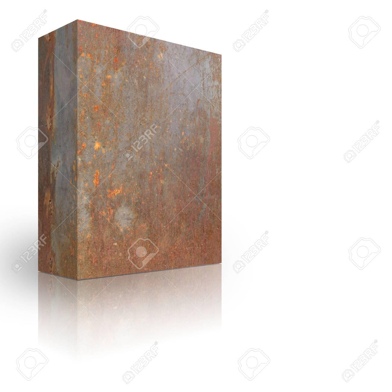 Metal box on a white background Stock Photo - 3627982