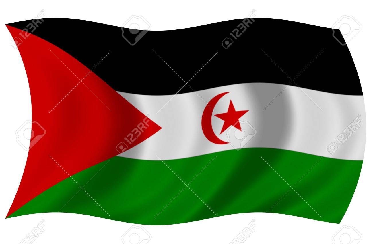 Resultado de imagen de bandera saharaui