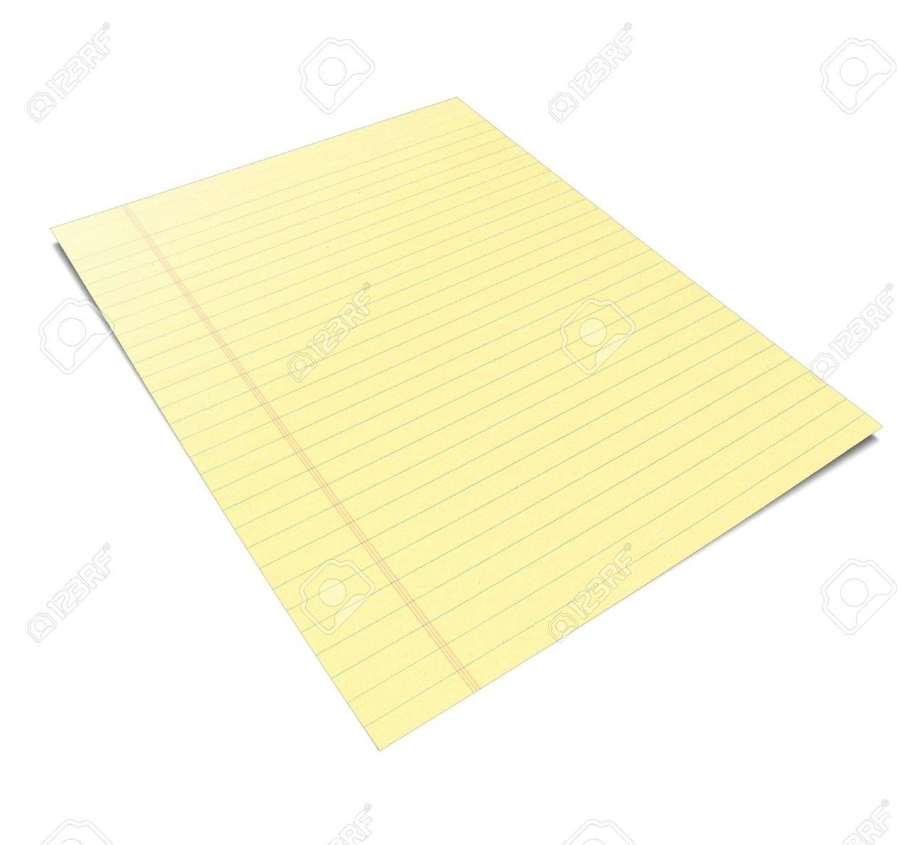 3d Illustration of a notebook with yellow leaves Stock Photo - 8187015