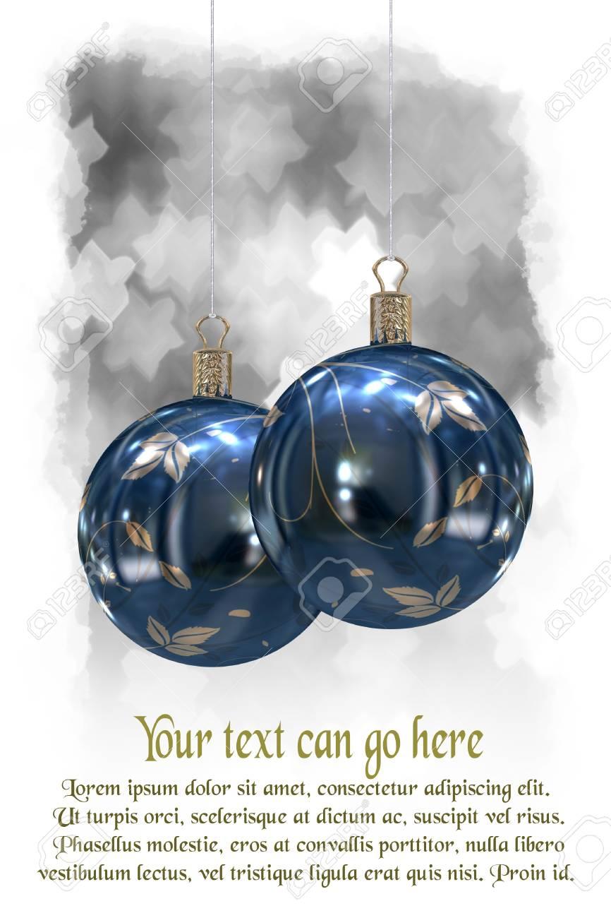 Christmas balls background Stock Photo - 11059442