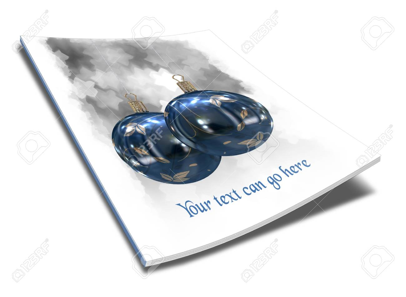3D Christmas balls picture book Stock Photo - 11208669
