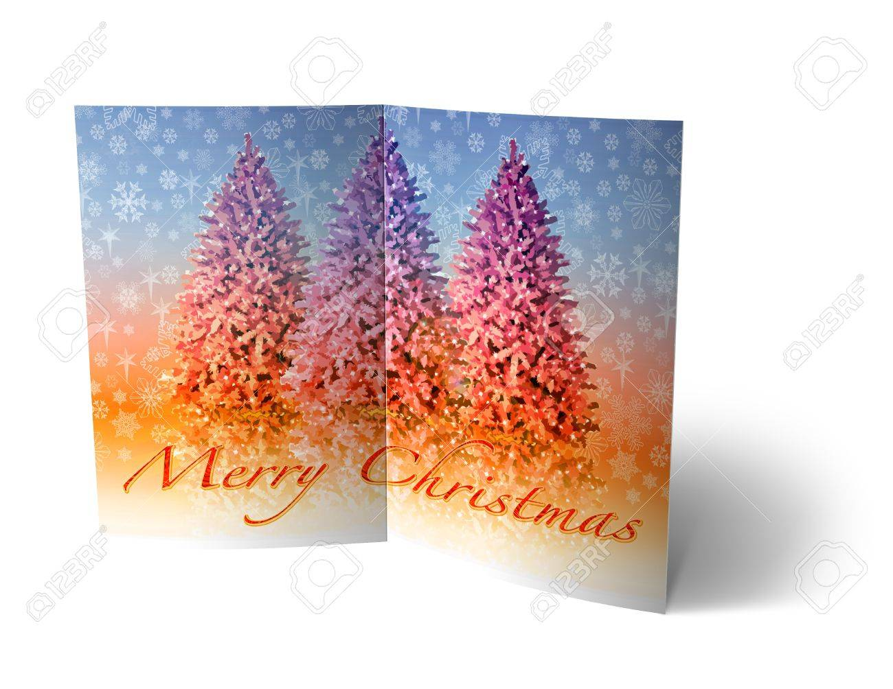 isolated 3d Christmas Balls brochure, Card Illustration Stock Photo - 16023408