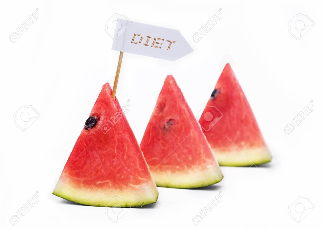 小旗と書かれたダイエットの言葉...