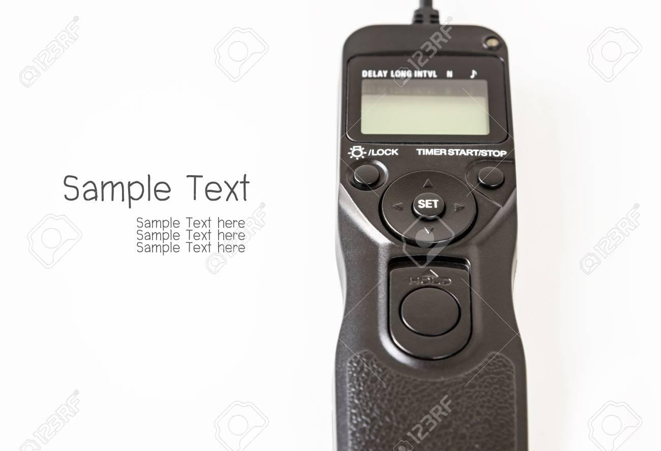 Camera Remote Control Dslr Camera remote control shutter switch of dslr camera stock photo picture 39062594