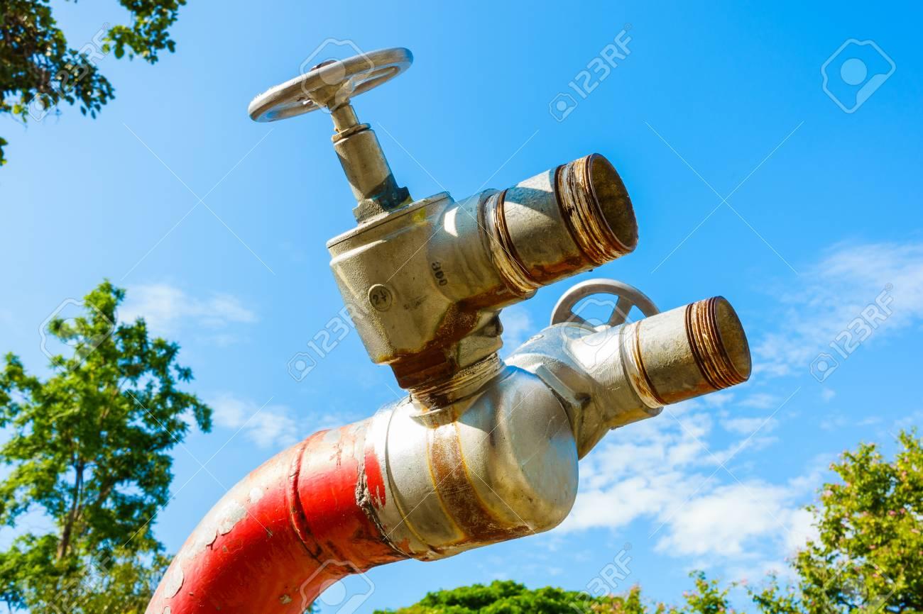 Hydrant Rouge Feu Bouchon D Incendie Robinet Incendie Securite