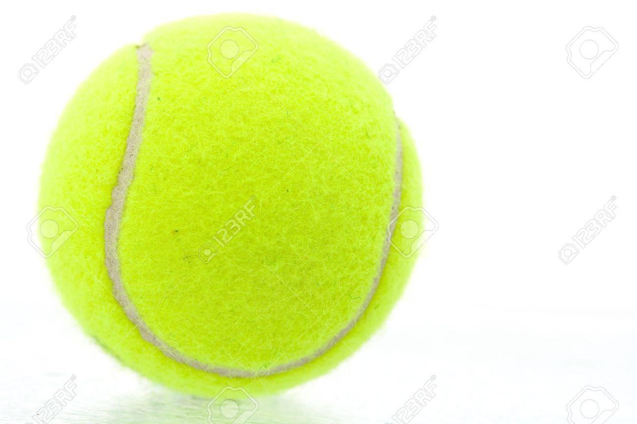 Tennis ball mascot stock photos tennis ball mascot stock photography - Curve Tennis Ball Yellow Tennis Ball On White Background Stock Photo