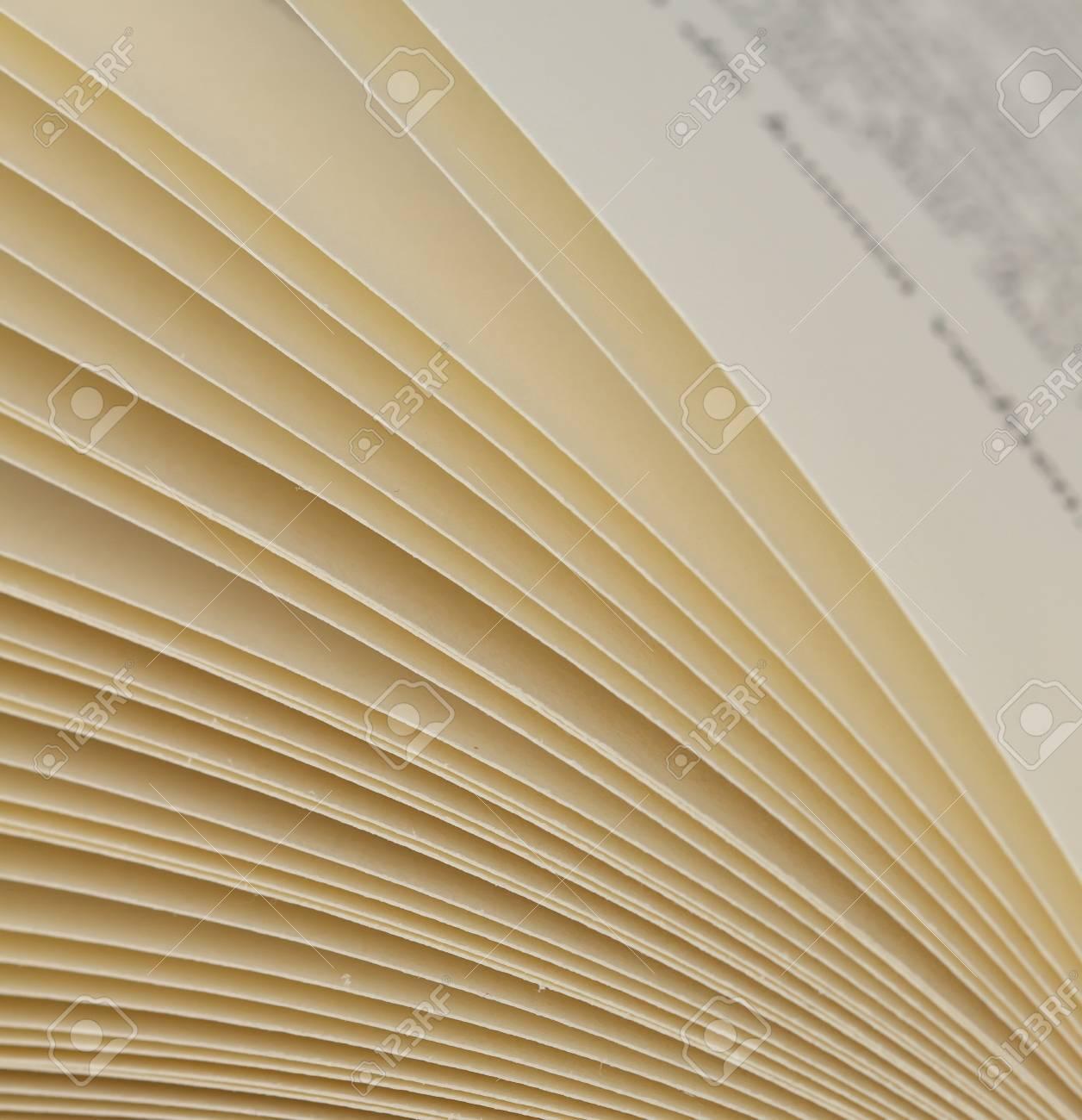 Page Livre Gros Plan Des Pages D'un Livre