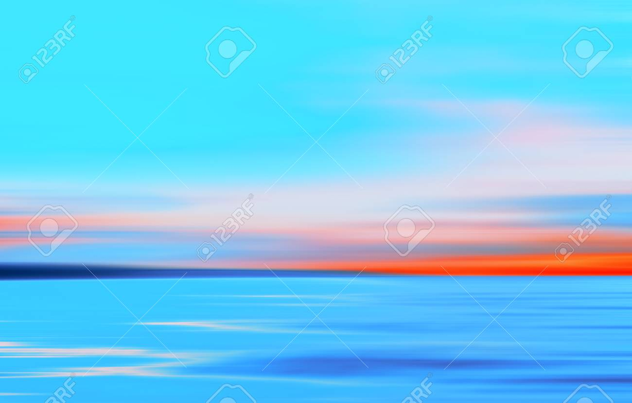 Abstract Motion Blurred Orange Turquoise And Blue Background Stock Photo Picture And Royalty Free Image Image 68043789
