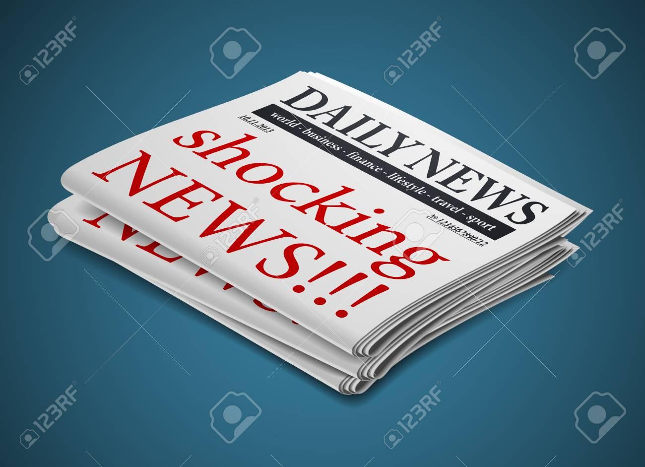 newspaper Stock Vector - 24029458
