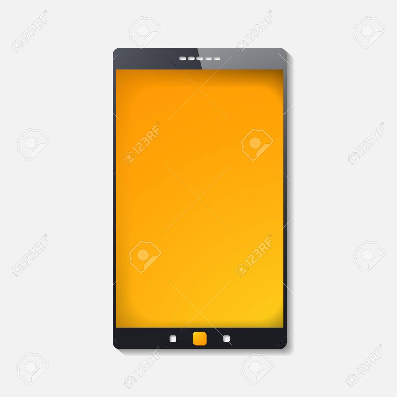 touchscreen smartphone Stock Vector - 24030016