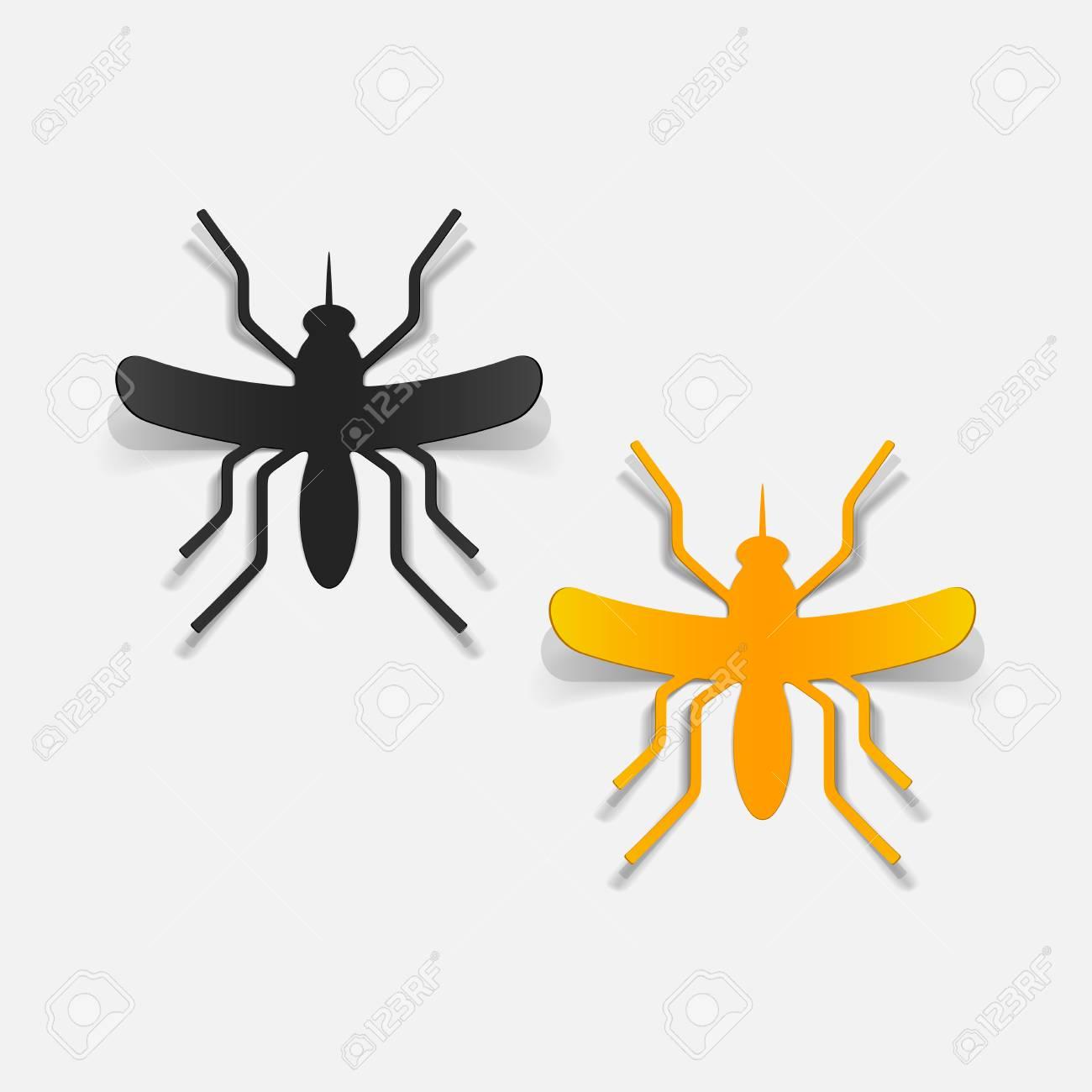 realistic design element: mosquito Stock Vector - 25626041