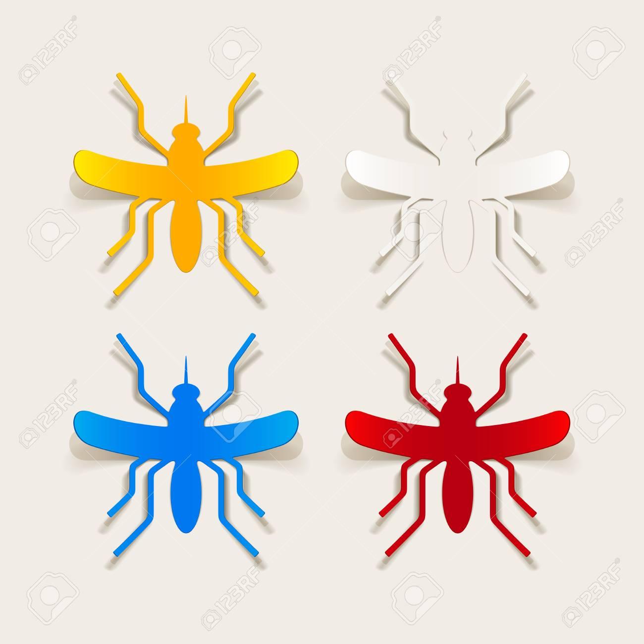 realistic design element: mosquito Stock Vector - 25627585