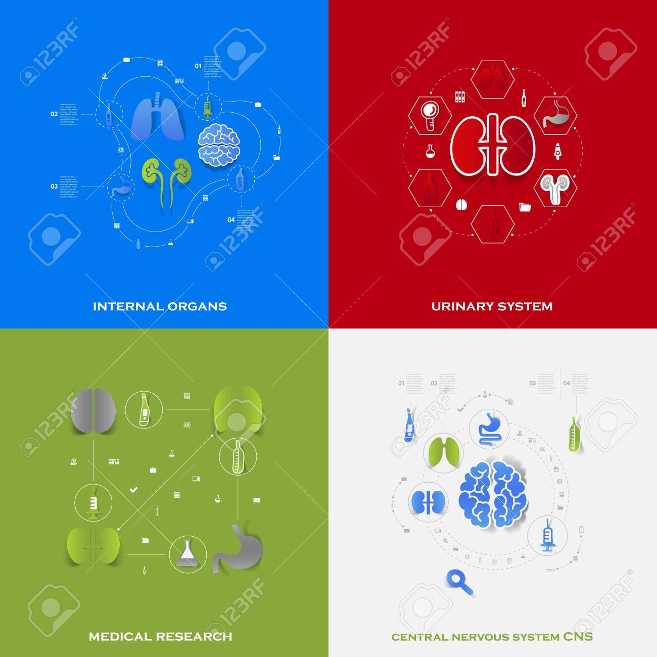 Set of medical icons Stock Vector - 30157691