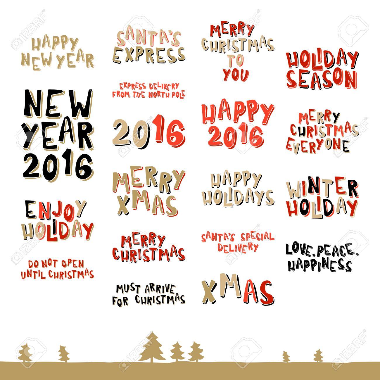 Frases De Felitacion De Navidad.Una Gran Coleccion De Frases De Felicitacion De Navidad En El Estilo De Dibujos Animados
