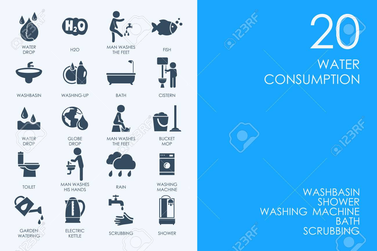 Blue hamster library water consumption vector set of modern simple blue hamster library water consumption vector set of modern simple icons stock vector 59460131 ccuart Choice Image