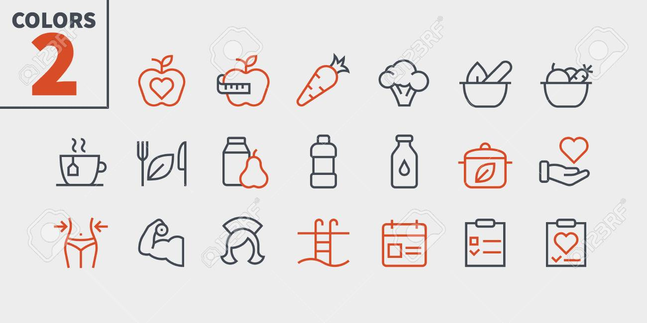 Health UI Pixel Perfect Well-crafted Vector Thin Line Icons 48x48 Ready for 24x24 Grid for Web Graphics and Apps with Editable Stroke. Simple Minimal Pictogram Part 3-3 - 108476145