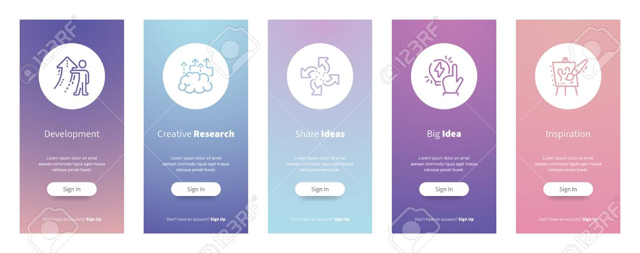 Web design ideas inspiration