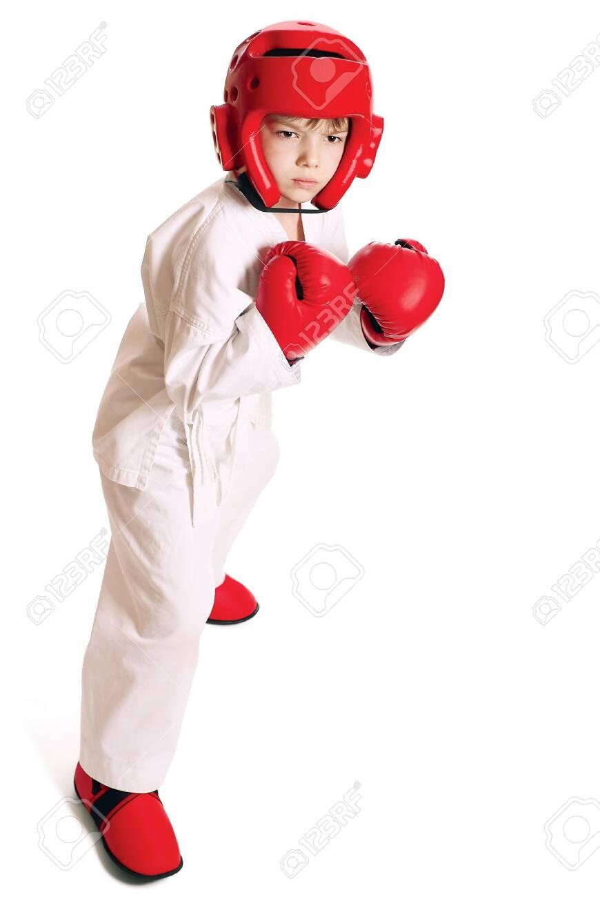 Sportsman boy Stock Photo - 9837688