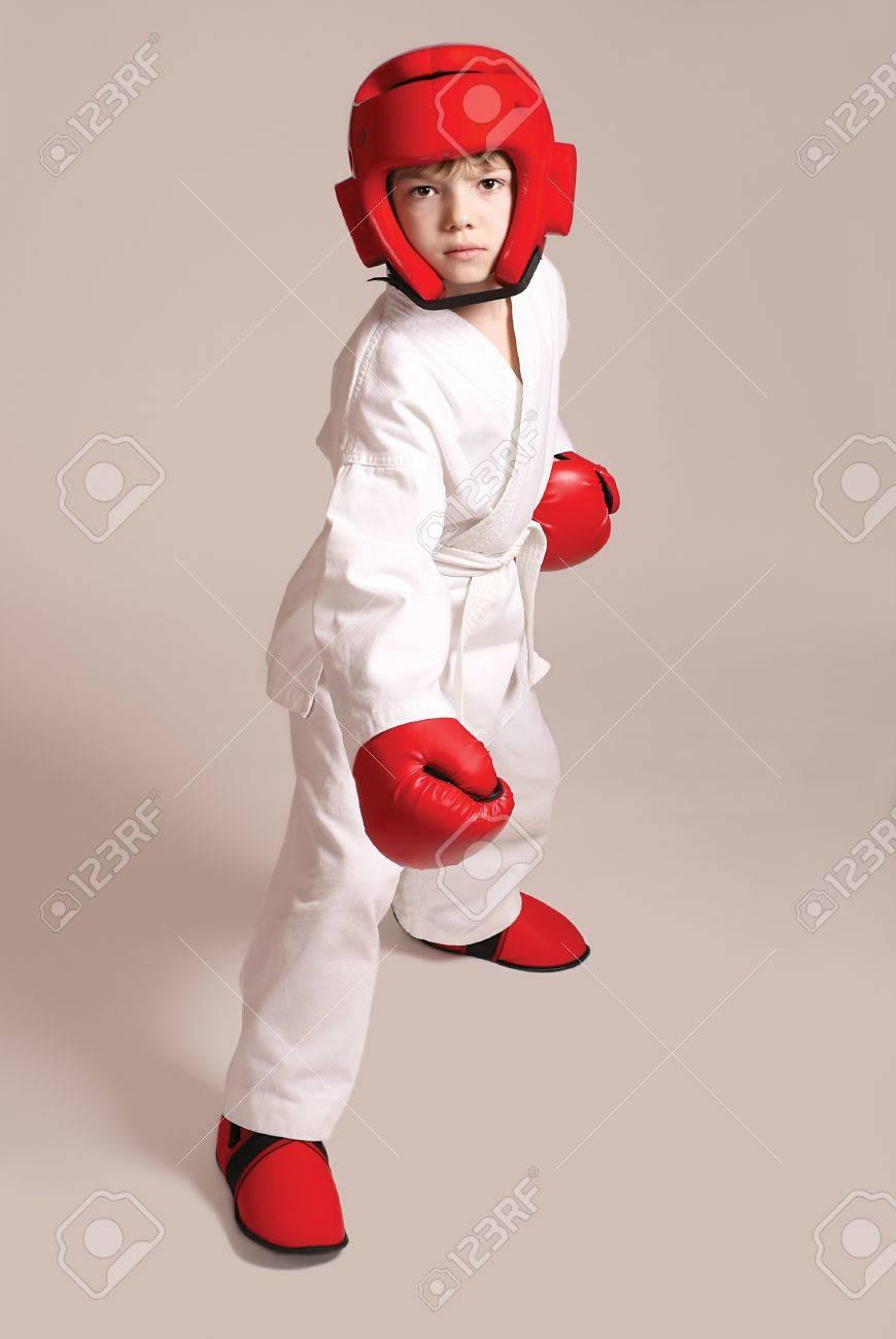 Sportsman boy Stock Photo - 10481185