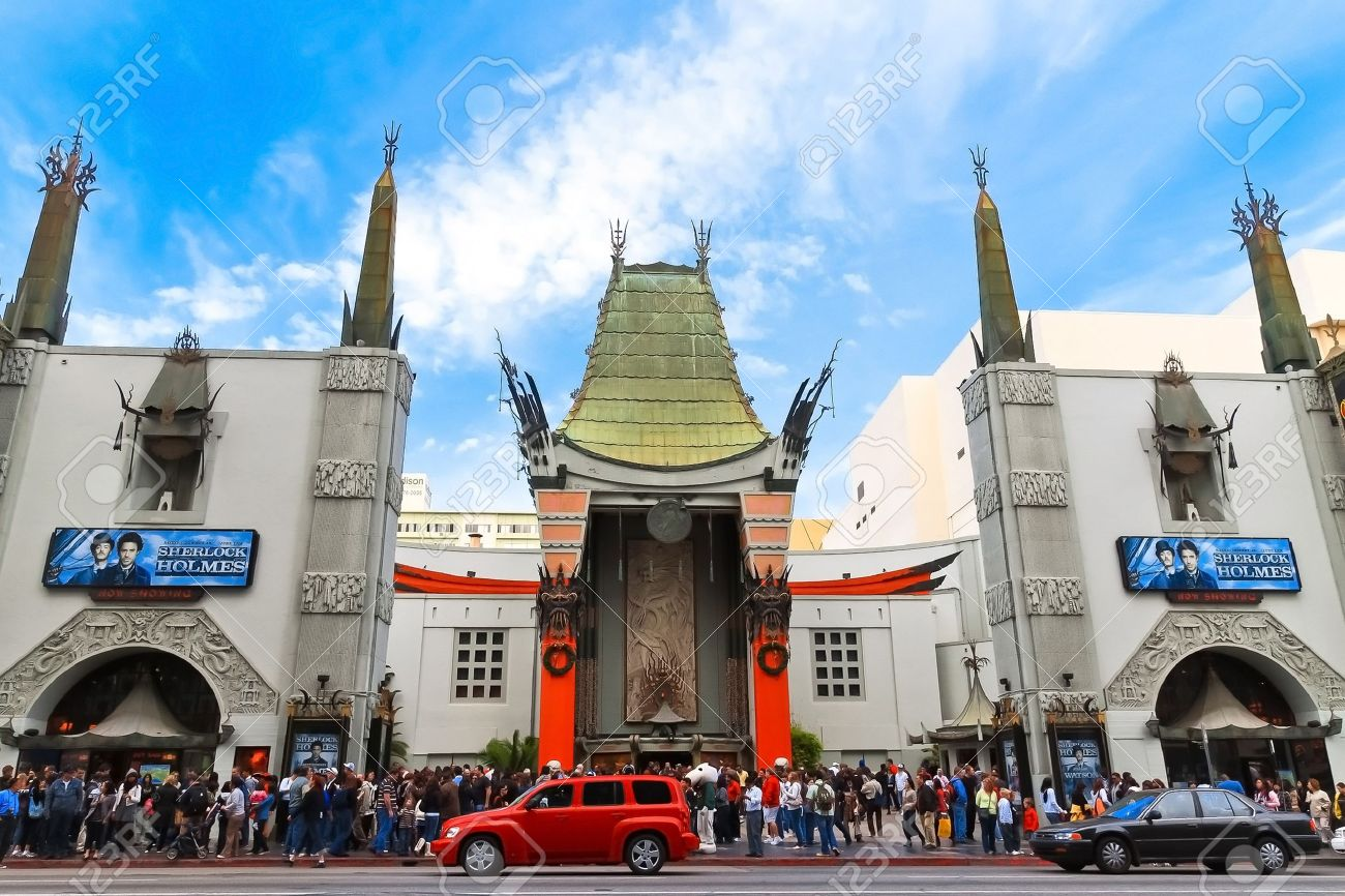 Grauman Chinese Theater located on Hollywood Boulevard in Hollywood - 10770339