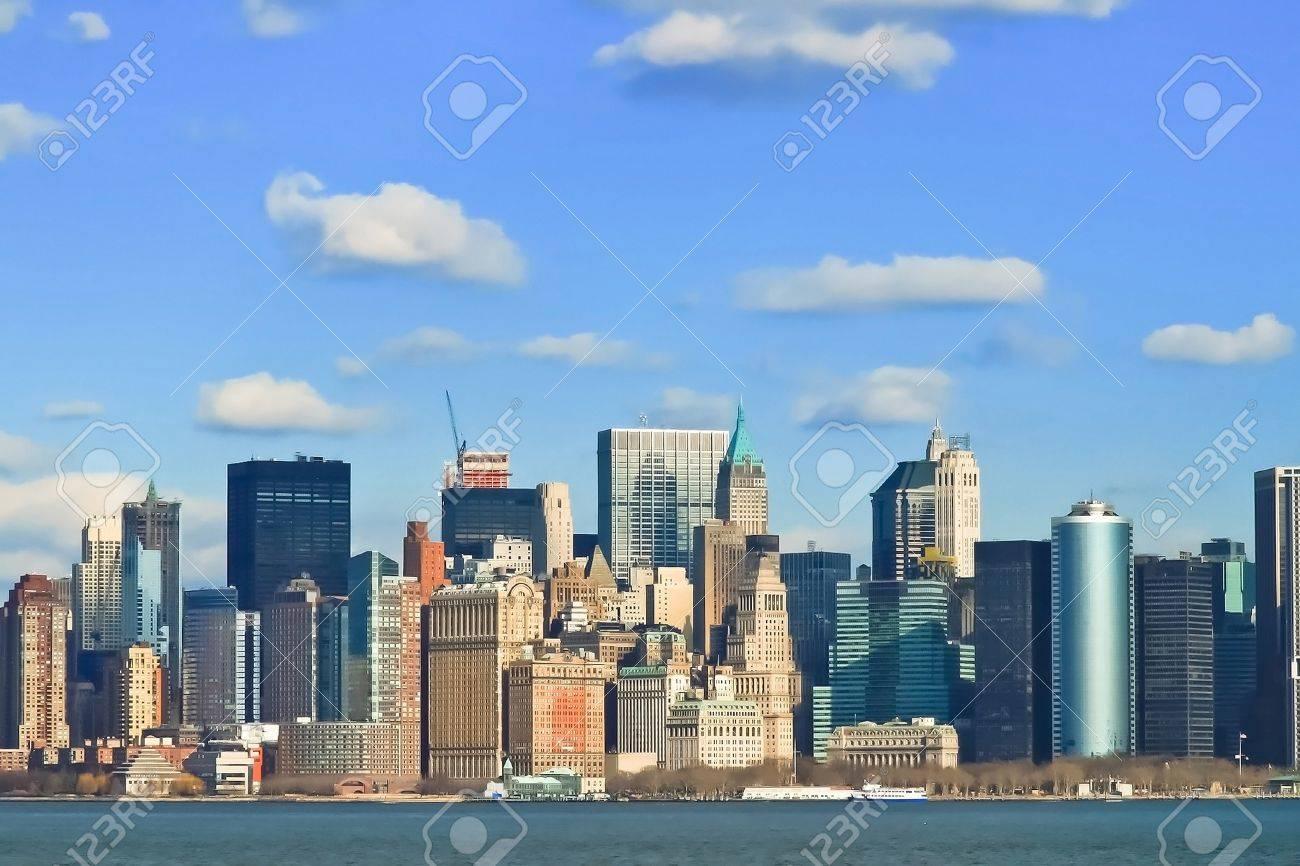 New York City Manhattan Skyline Stock Photo - 12575945