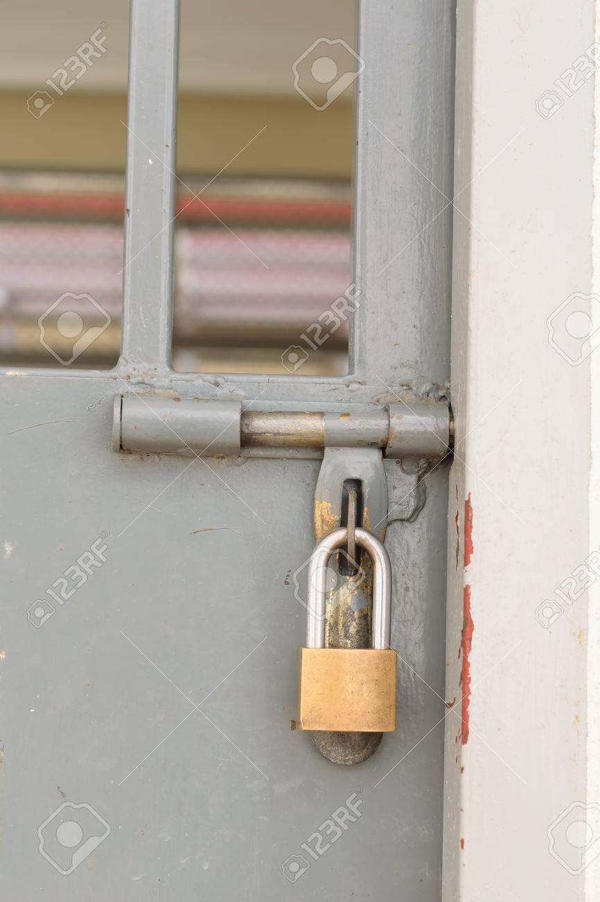 Prison gate lock