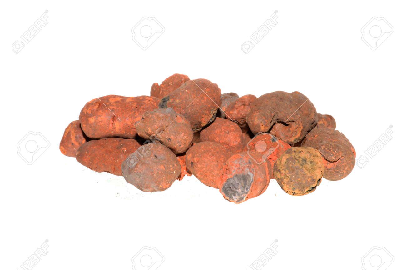 expanded clay isolated on white background - 171527467