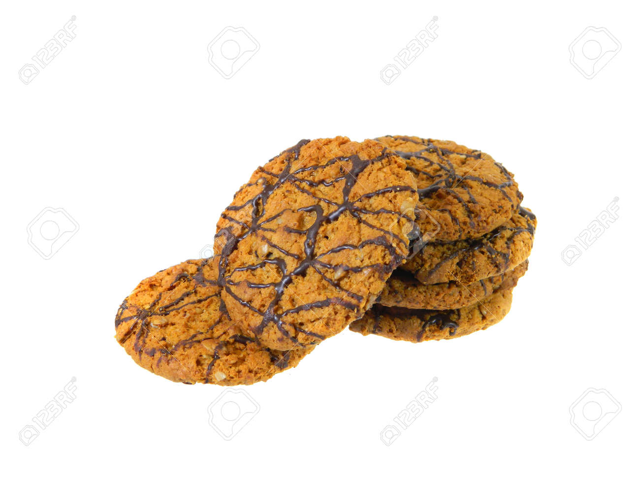 cookies isolated on white background - 171856473