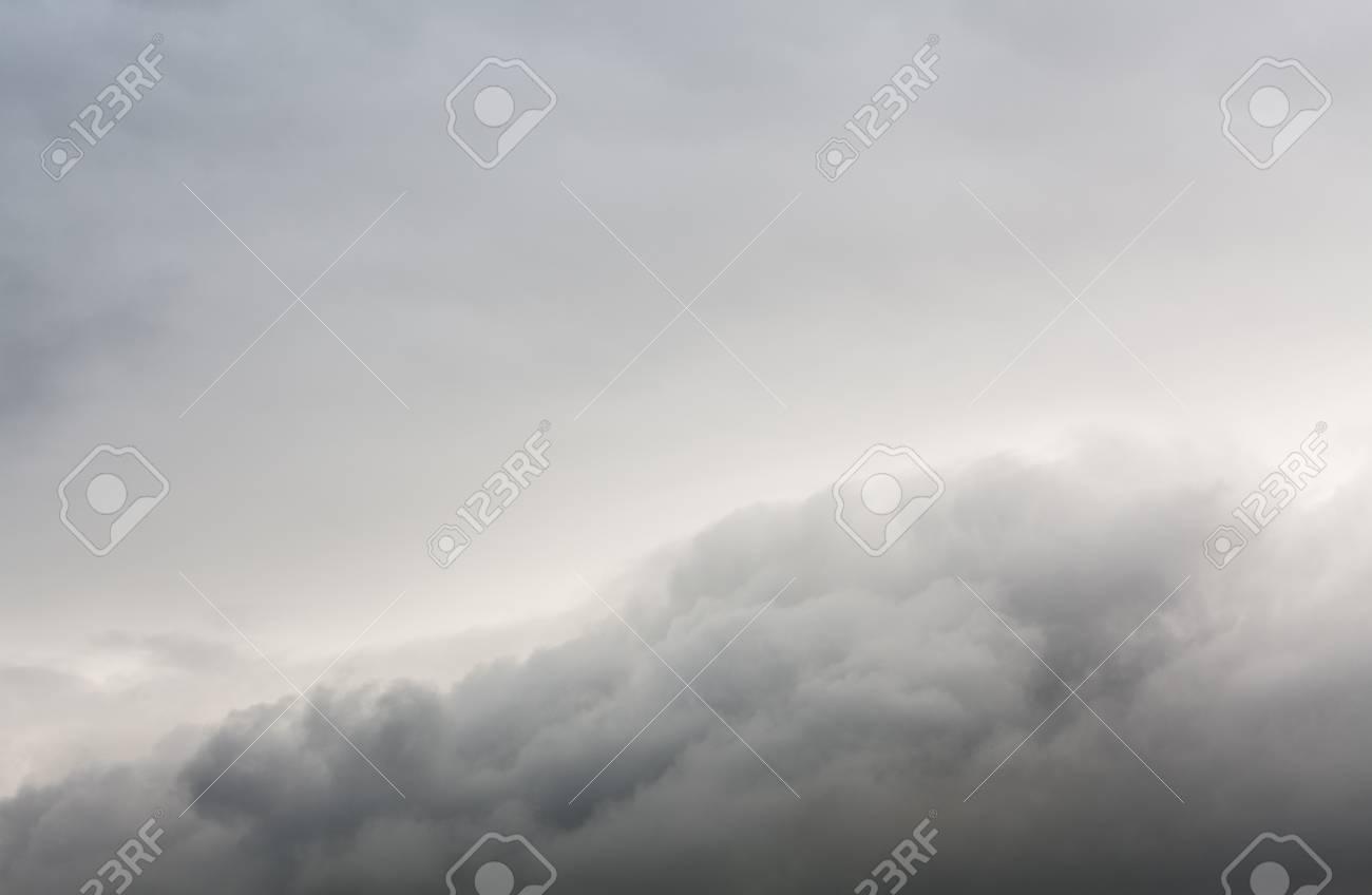 Dark ominous clouds. Dramatic sky Stock Photo - 17440631