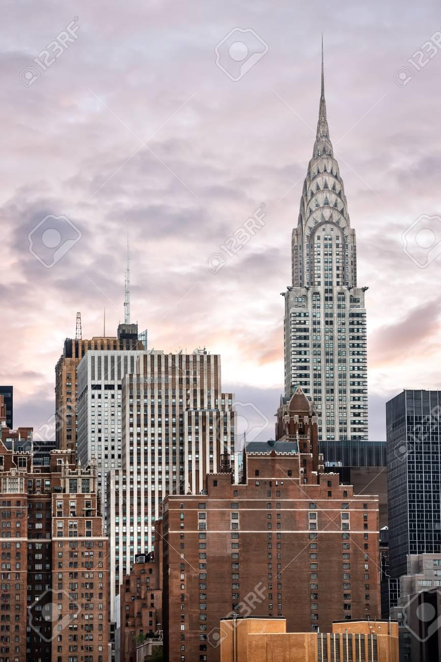 Chrysler Building. The Chrysler Building Is An Art Deco-style ...