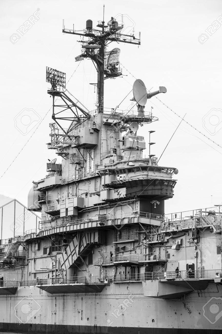 NEW YORK USA Apr   Aircraft Carrier USS Intrepid Fought - World war ii museums in usa