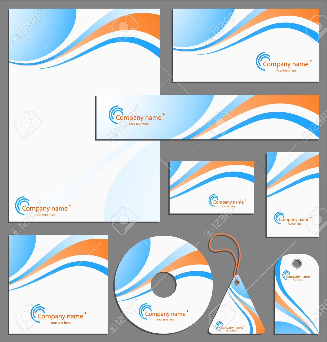 Letterhead template design royalty free cliparts vectors and stock letterhead template design stock vector 5720003 spiritdancerdesigns Image collections
