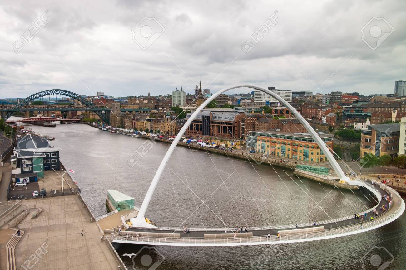 Newcastle United Kingdom June 30 2019 Panoramic View Of Newcastle Stock Photo Picture And Royalty Free Image Image 133785224