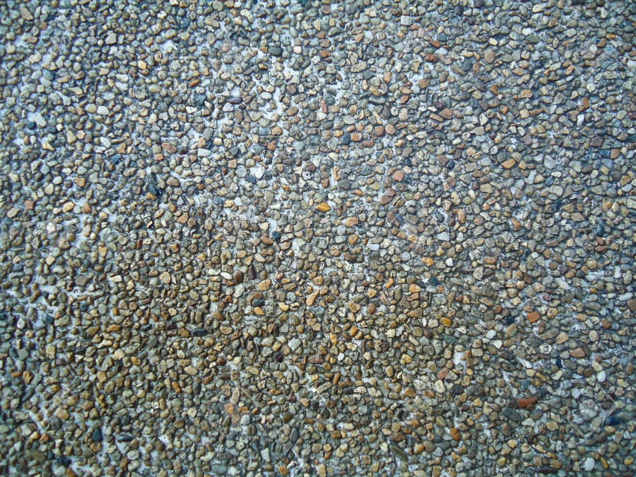 Exposed aggregate finish Stock Photo - 20006683